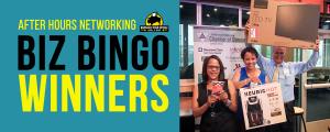 Biz Bingo Winners