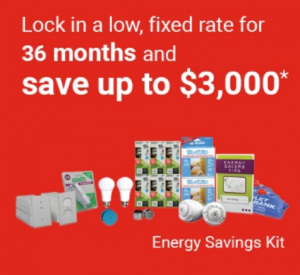 Lock in a fixed rate and save up to $3000