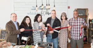 Whisky & Lace Ribbon Cutting