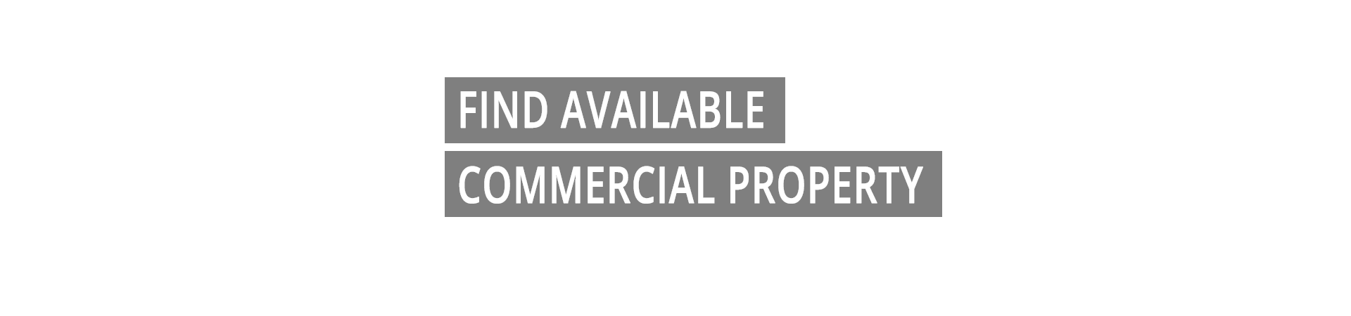 Find Available Commercial Property