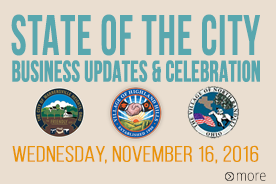 State of the City Business Updates 2016