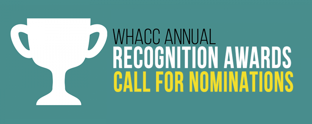 Call for nominations – WHACC 2017 Annual Awards