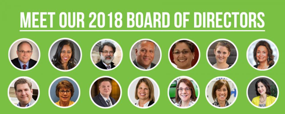 Meet our 2018 Board of Directors