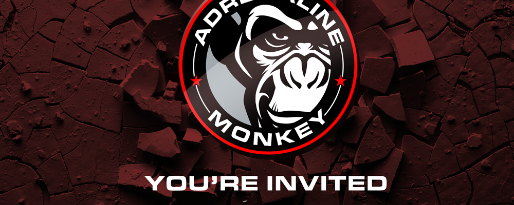 Invitation to Adrenaline Monkey Ground Breaking