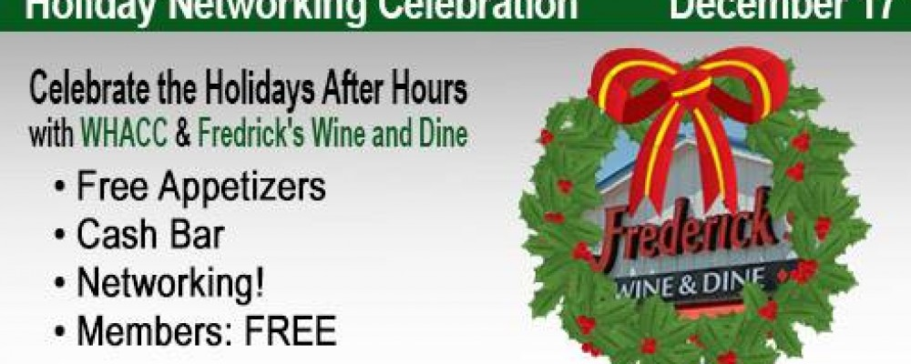 Register for the After Hours Holiday Networking Celebration