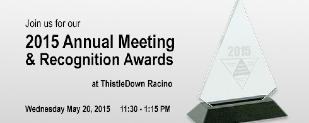 Excited for our Annual Meeting and Recognition Awards tomorrow!