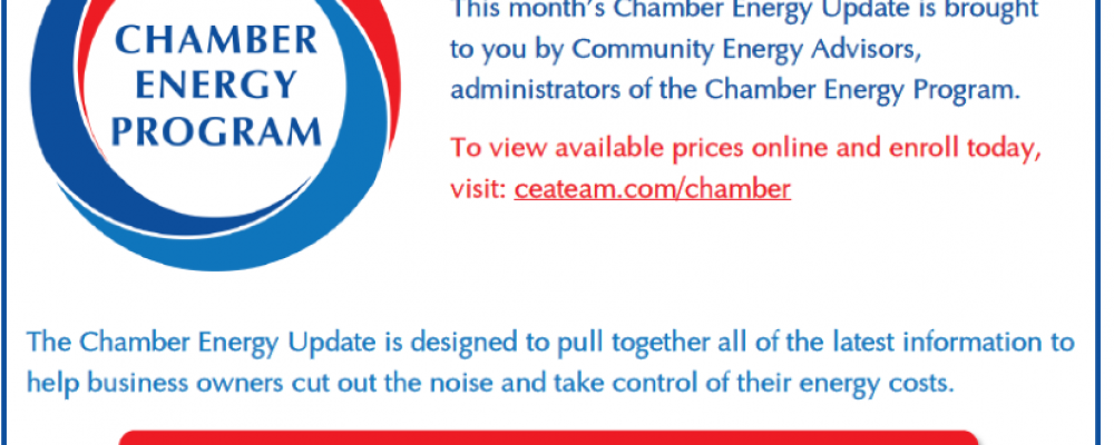 January 2018 Chamber Energy Update