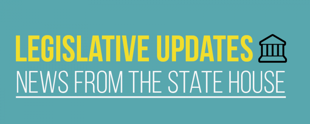 Legislative Updates: News from the State House – April 2018