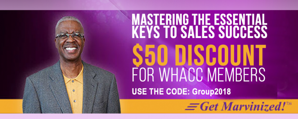 [Press Release] Chamber discount on Master The Essentials Keys To Sales Success seminar with Marvin Montgomery