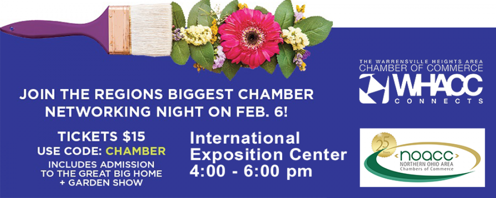 NOACC Invites WHACC members to the Seventh Annual Great BIG Chamber Networking Night!