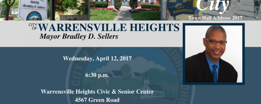 City of Warrensville Heights – State of the City Town Hall Address April 12, 2017
