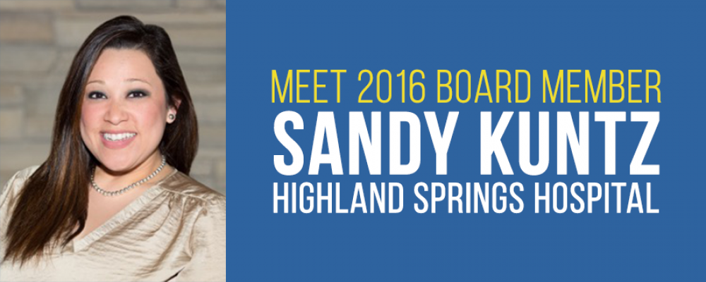 Welcome Board Member Sandy Kuntz