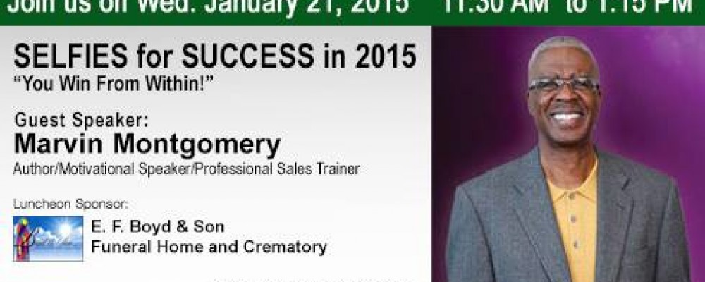 January Networking Luncheon: Selfies for Success